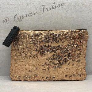 ⚡️ $1 Ipsy Gold Sequin Bag